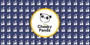 the cheeky panda banner