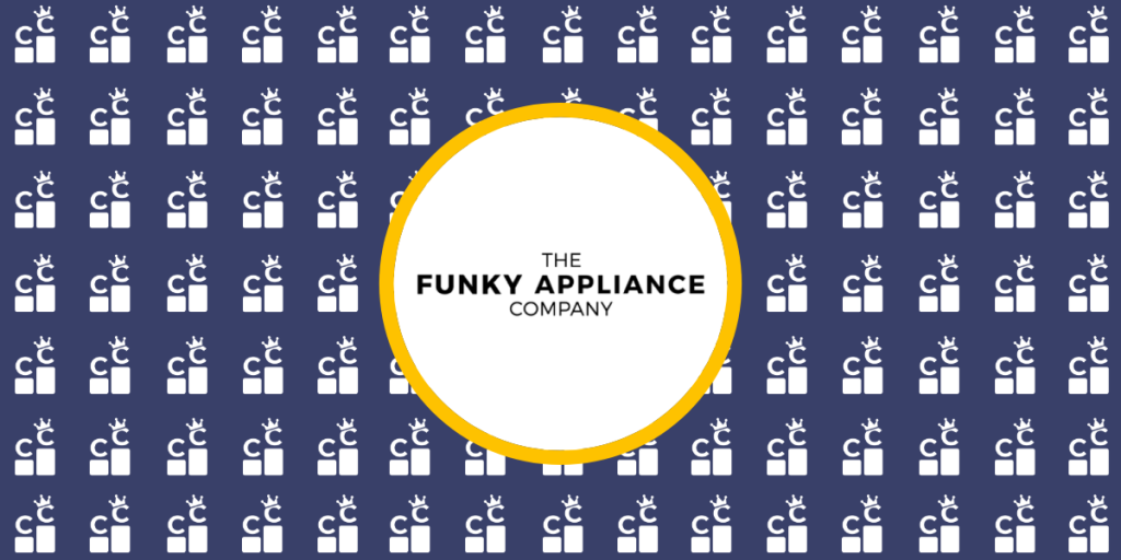 the funky appliance company banner