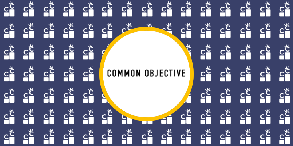 common objective banner