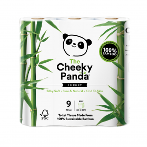 the cheeky panda toilet paper