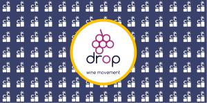 Drop Wine App banner